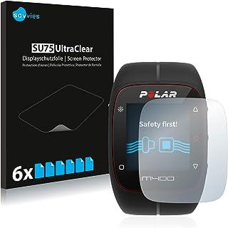 savvies Protector Pantalla Compatible con Polar M400 / M430 (6 Unidades) Pelicula Ultra Transparente