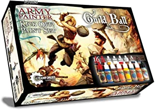 The Army Painter Guildball Miniature Paints, Army Paint Set of 16 Dropper Bottle Paints for Miniatures from Guild Ball Board Game - Guild Ball Kick Off Paint Set