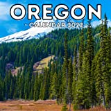 Oregon Calendar 2022: 16-Month Calendar, Cute Gift Idea For Oregon State Lovers, Women & Men