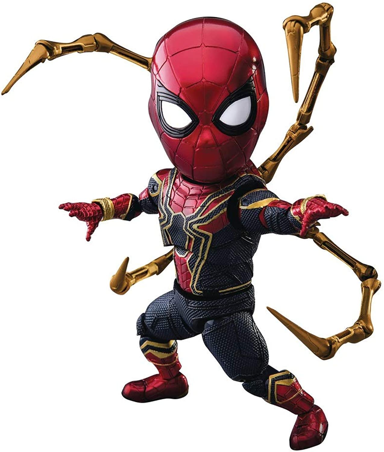 Huangyingui Spiderman  Egg Attack Action Eaa060 Iron Spider Action Figure