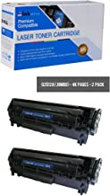 Inksters Compatible Toner Cartridge Replacement for HP 12A Q2612A-J Jumbo Yield Black - Compatible with Laserjet 101010121015101810201022 1022n 1022nw301530203030305030523055 (2 Pack)