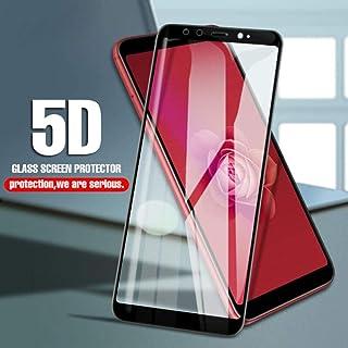 3 Piezas 5D de Cubierta Completa de Vidrio Templado para Xiaomi Pocophone F1 Mi8 SE Mi A1 Protector de Vidrio Redmi Note 6 Pro 4X 4 Note 5 Protector de Pantalla@Redmi Note 4 Global_Negro