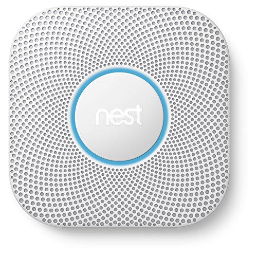 Nest Protect 2ème génération, détecteur de fumée et monoxyde de carbone, (à...
