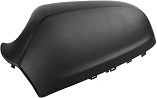 Ecosin Left/Right Driver Side Black Wing Mirror Cover Casing Cap For Vauxhall Astra (left)
