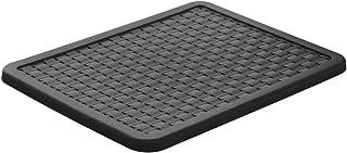 Rotho Country Couvercle en rotin pour la boîte de rangement Country A4, Plastique (PP) sans BPA, anthracite, A4 (37.5 x 2...