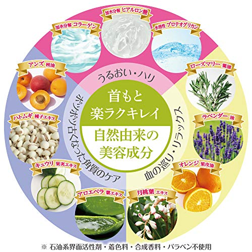 Mamo-Re(マモーレ)ネッククリームリラックスアンドビューティー(首・デコルテクリーム)80g