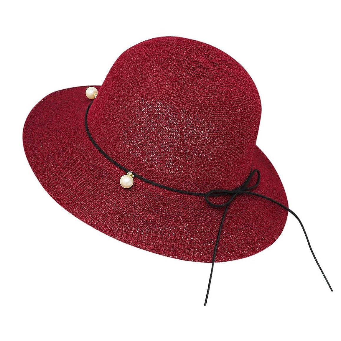 代表する階段揃える帽子 レディース 夏 女性 UVカット 帽子 ハット 漁師帽 つば広 吸汗通気 紫外線対策 大きいサイズ 日焼け防止 サイズ調節 ベレー帽 帽子 レディース ビーチ 海辺 森ガール 女優帽 日よけ ROSE ROMAN
