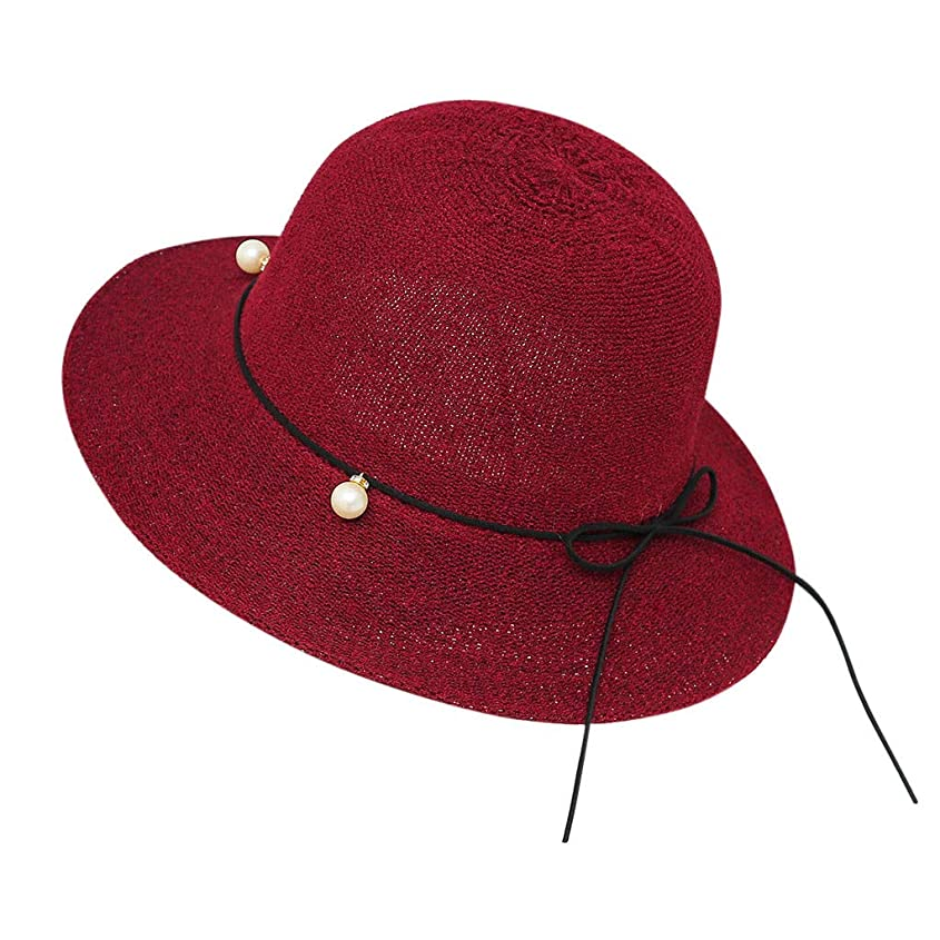 空いているチップマイナー帽子 レディース 夏 女性 UVカット 帽子 ハット 漁師帽 つば広 吸汗通気 紫外線対策 大きいサイズ 日焼け防止 サイズ調節 ベレー帽 帽子 レディース ビーチ 海辺 森ガール 女優帽 日よけ ROSE ROMAN