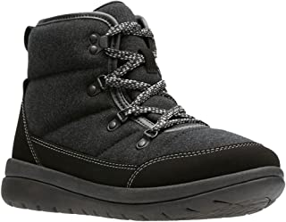 CLARKS Womens Cabrini Cove Ankle Boot Black Size 7