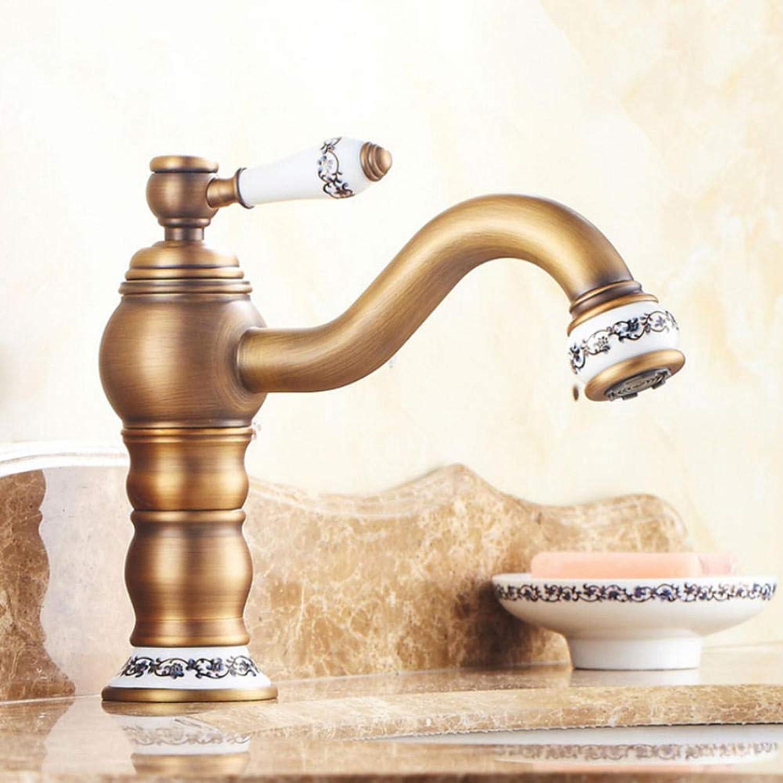 Gorheh Einhebel New Design Waschbecken Wasserhahn Einhand-Keramik-Waschtischmischer Mit Langem Hals