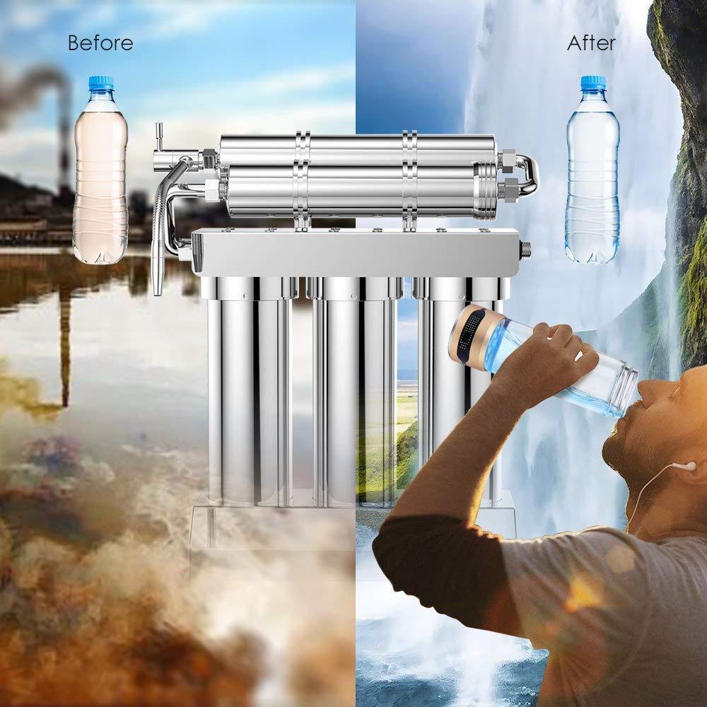 gosoit sistema de descalcificador de filtro de agua sistema de ...