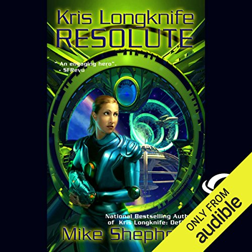 Resolute audiobook cover art