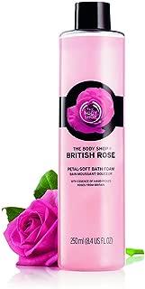The Body Shop British Rose Bath Foam, 8.4 Fl Oz