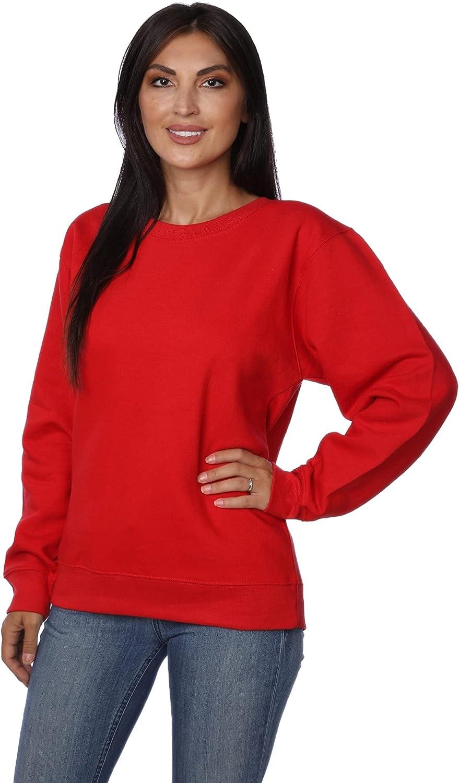 Women's Plus Size Active Fleece Pullover Sweatshirt