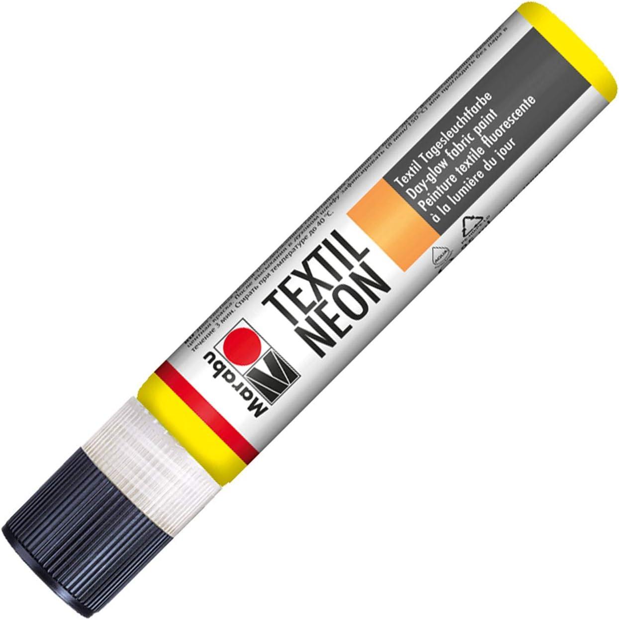 Marabu 18080009321 Neon Liner - Tinte Textil para Ropa (Base ...