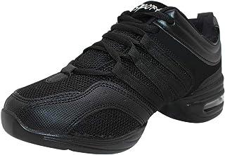 Yudesun Chaussures de Sport Danse Femme - Femmes Maille à Lacets Chaussures Mode Baskets Moderne Jazz Scène Latin Standard...