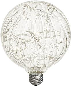 Ledmomo decorativo lampadine LED Lampadina Edison lampadina in vetro colorato decorativo Starry string Light