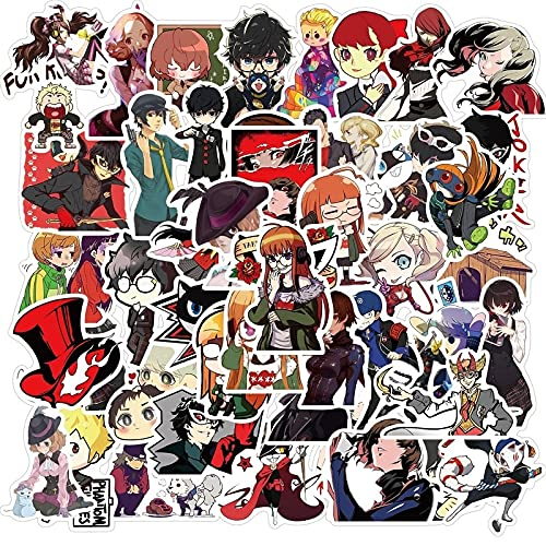 SHUYE RPG Game PersonaPack para niños Dibujos Animados Anime Pegatina para DIY monopatín teléfonoBicicleta portátil Motocicleta 50 Uds