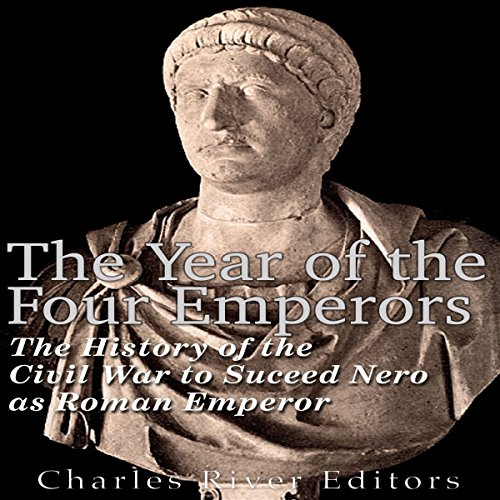 The Year of the Four Emperors audiobook cover art