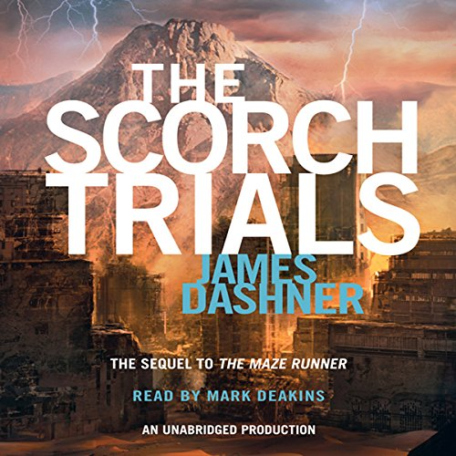 The Scorch Trials audiobook cover art