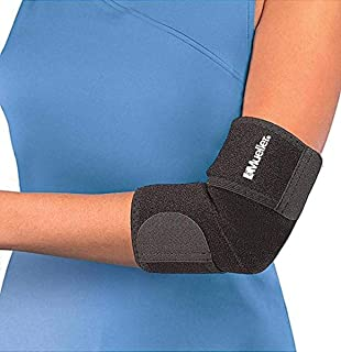 Mueller Adjustable Neoprene Elbow Support, Black OSFM