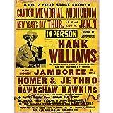 Wee Blue Coo Music Concert Advert Hank...