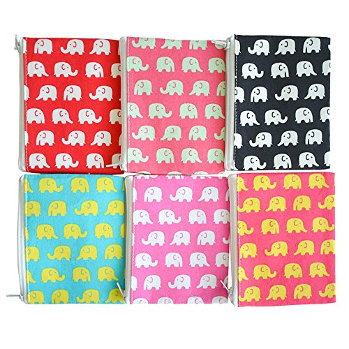 ELEPHANT DECORATIVE FUN PARTY BAG FILLERS PENCILS PACK OF 5