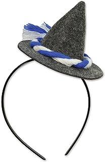 Oktoberfest Peasant Hat Headband (Pack of 12)