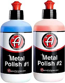 Adam's Metal Polish - for Aluminum, Chrome, Stainless,...