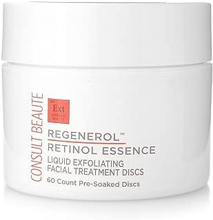 Consult Beaute Regenerol Retinol Essence Exfoliating Facial Treatment Discs - 60 discs