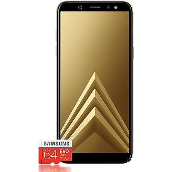 Samsung Galaxy A6+ Smartphone (2018) + Tarjeta SD de 64 GB: Amazon ...