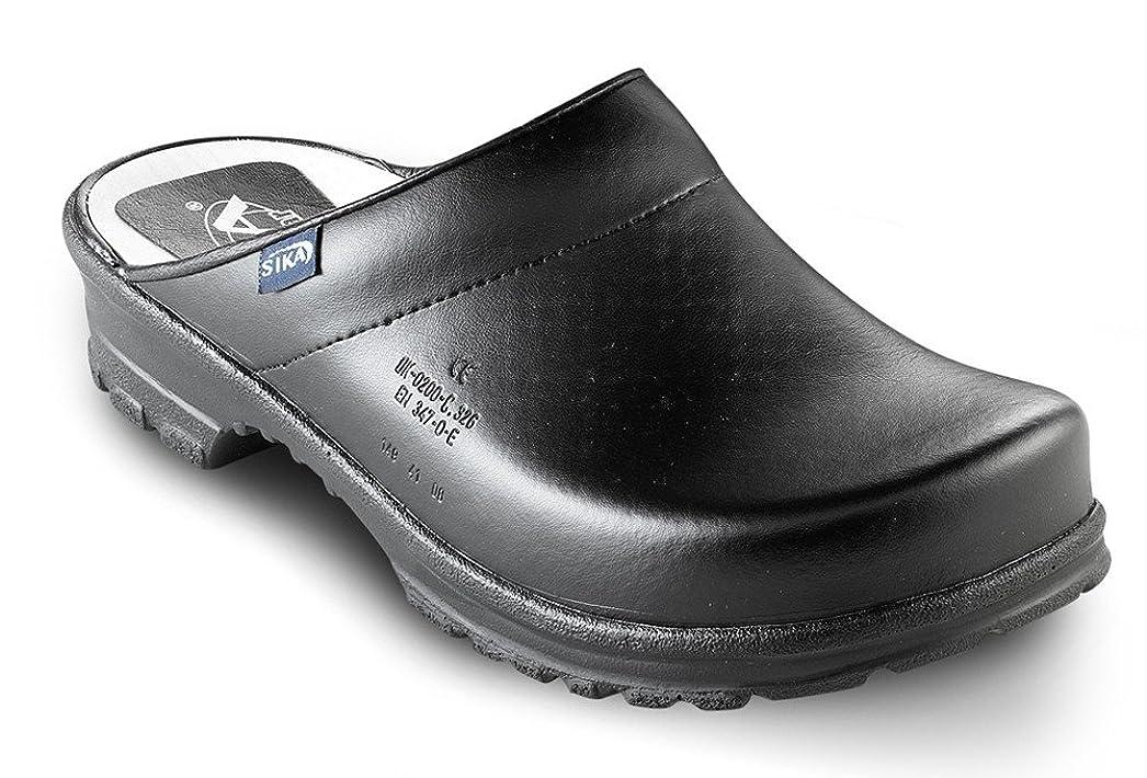 ペチュランスマトン行く[Sika Footwear] Birchwood Work Clog W/Open Back