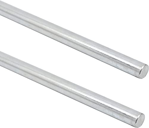 """high quality (2-Pack) new arrival Exact Replacement National Hardware N179-812 4005BC Smooth Rods - 5/8"""" x 36"""" Zinc Plated Steel Rods - Designed for Use discount as an Axle on Hand Trucks, Dollies, Wagons, and More sale"""