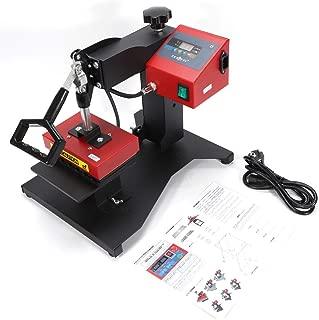 3D Sublimation Heat Press Logo Transfer Machine 350W Digital Pen Heat Transfer Sublimation Machine Ballpoint Pen Heat Press for 6pcs Ballpoint Pen