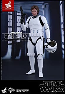 Hot Toys Star Wars: Episode IV New Hope Han Solo (Stormtrooper Disguise Version) Harrison Ford 1/6 Scale Movie Collectible Figure