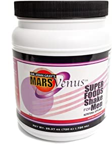 Super Food Shake for Men and Boys with Undenatured Whey Protien for Weight Loss, Memory and Brain Performance