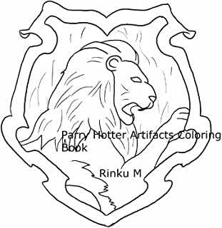Parry Hotter Artifacts Coloring Book