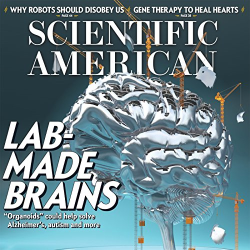 Scientific American, January 2017 audiobook cover art