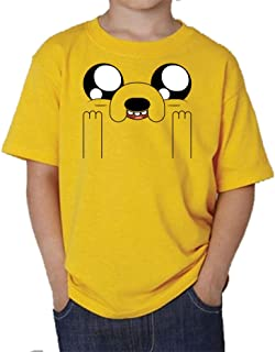 The Fan Tee Camiseta de NIÑOS Hora de Aventuras Jake Finn 010