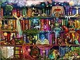 Poster 70 x 50 cm: Das Bücherregal voller Märchen von