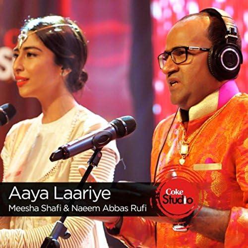 Meesha Shafi & Naeem Abbas Rufi
