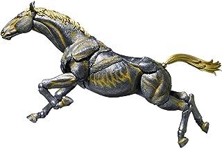 タケヤ式自在置物 馬 鉄錆地調 約180mm PVC&ABS製 塗装済み可動フィギュア KT-007