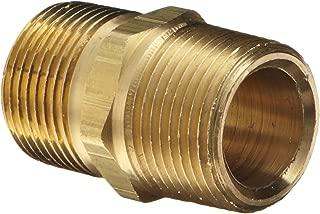 Dixon BCN75 Brass Fitting, Hex Nipple, 3/4