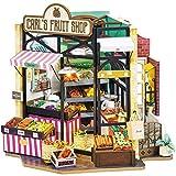 Rolife DIY Miniature Dollhouse Tiny House Building Kit Carl's Fruit Shop