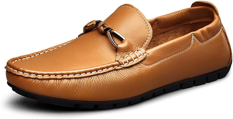 MUYII Herren Oxfords Lederschuhe Handgefertigte Klassische Moderne Casual Loafer Herren Rutschfeste Bequeme Schuhe Formale Business Schuhe Für Mnner