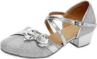 Bady Girls Latin Tango Dance Shoes Princess Small Leather Sandal 9-14.5