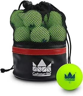 Craftsman Golf Golf Matte Balls 2-Dozen