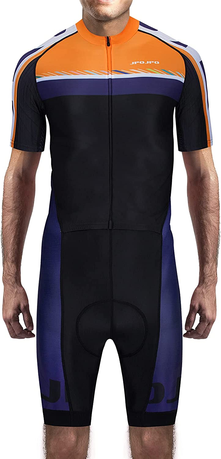 Hotlion Men's Racing Pro Tucson Mall Cycling Jersey Max 49% OFF Skinsuit One-Piece Bike