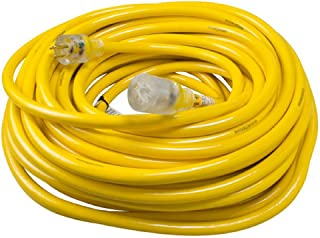 Yellow Jacket 2806 Contractor Extension Cord with Lighted End, 100 Foot