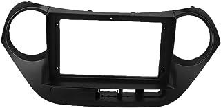 Greatly Store 9 Inch 2Din Car Fascia Fit for Hyundai I10 2014-2017 (Left Wheel) Car DVD Frame Panel in-Dash Mount Installa...